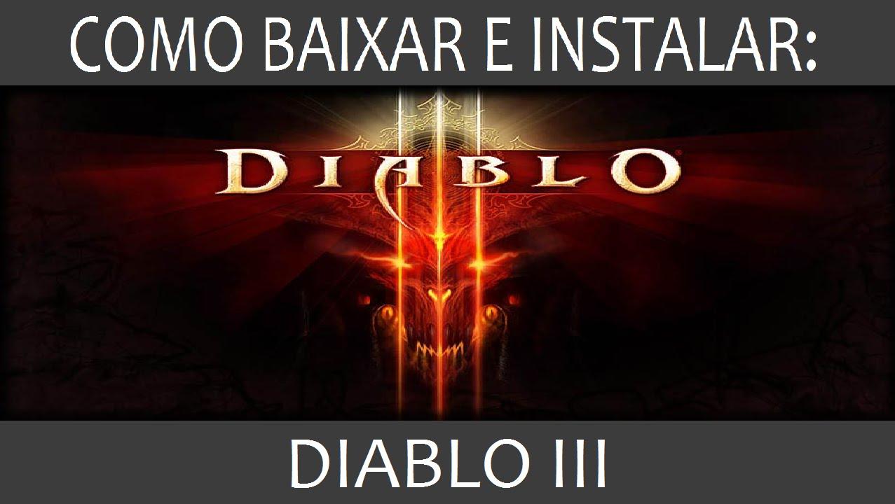 Como Baixar E Instalar Diablo 3 Pc Youtube