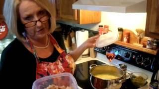 Julia Child Cooking Snow Goose Soup-#2