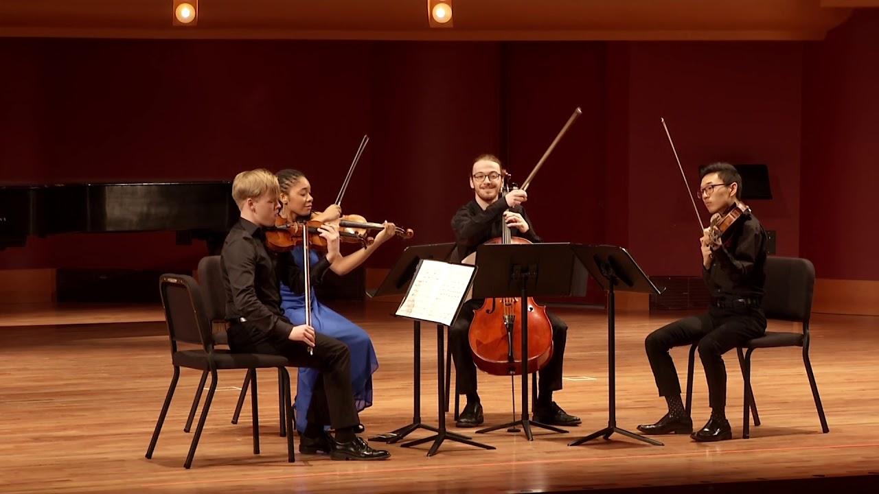 Bartok String Quartet No. 2 Movt. 2
