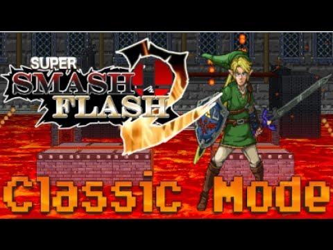 Super Smash Flash 2 - Classic Mode (Link)
