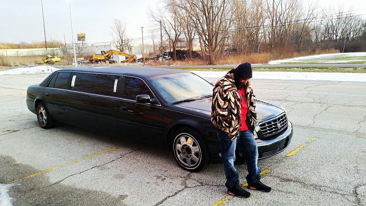 2003 Cadillac Deville Stretch Limousine Custom Youtube
