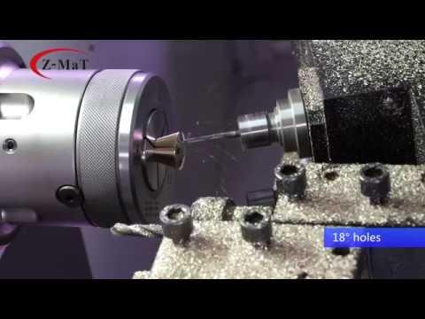 Z-MaT Flat Bed CNC Lathe - Turn-Mill