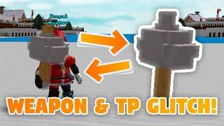COOL WEAPON + TP GLITCH! - Build a Boat ROBLOX