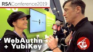 RSA 2019 ▶︎ Stina Ehrensvard - WebAuthn Milestone