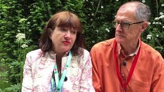 Designer Kati Crome talks about Embroidered Minds Epilepsy Garden