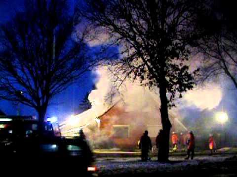 Hausbrand in Ostrhauderfehn