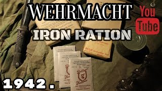 Wehrmacht rations: Eiserne Portion 1942. / German Iron Ration / ENG SUBS