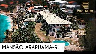 Mansão no Condomínio Praia das Espumas - Araruama - RJ - Brasil