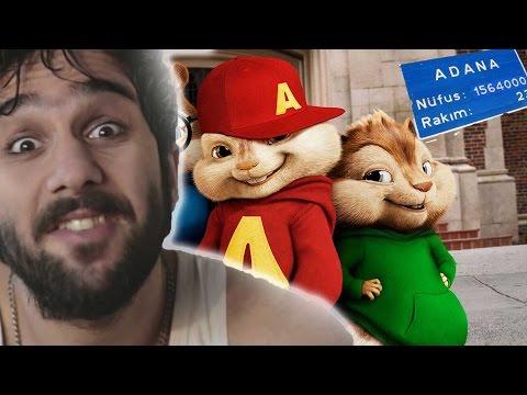 Çılgın Alvin - Kıyamıyorum Sana (Alvin ve Sincaplar) Video Klip