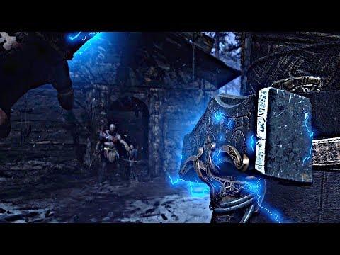 God of War 4 - Ending + Secret Ending THOR Appears (God of War 2018) PS4 Pro