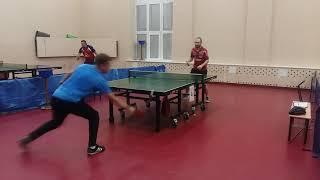 Стример играет в настольный теннис | table tennis | Любительский турнир 16.11.19 | Самара ЦНТ