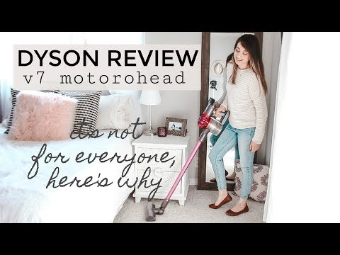 DYSON V7 MOTORHEAD REVIEW - From a Mom of Toddlers