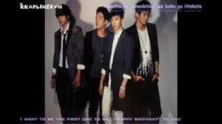 "Japanese original song in 2AM's the 3rd Japanese single ""For you~ K..."