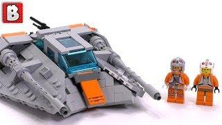 Awesome LEGO Snowspeeder MOC!