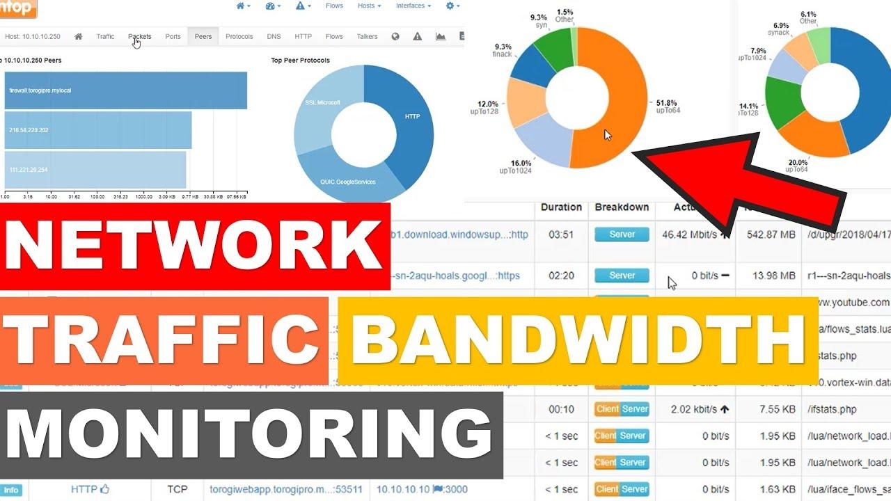 Network Traffic Bandwidth Monitoring - NTOP PFSENSE