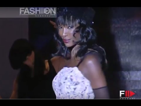 MARIELLA BURANI Special Haute Couture Women Finale Autumn Winter 2004 2005 Rome by Fashion Channel