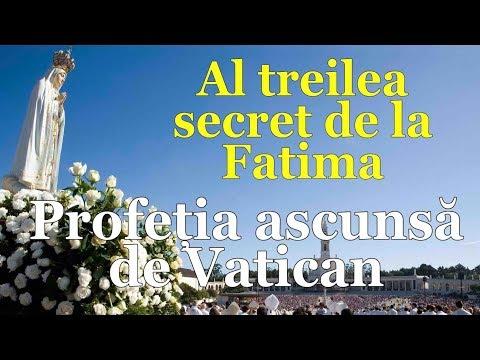 Al treilea secret de la Fatima - Profetia ascunsa de Vatican