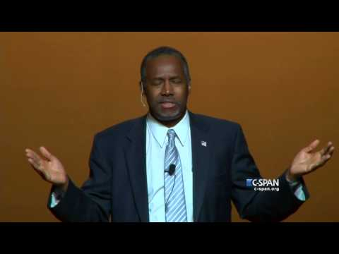 Dr. Ben Carson Presidential Announcement Full Speech (C-SPAN)