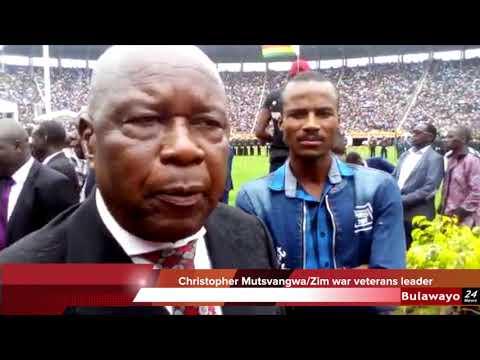 Mutsvangwa calls for the resignation of Zimbabwe Republic Police General Chihuri
