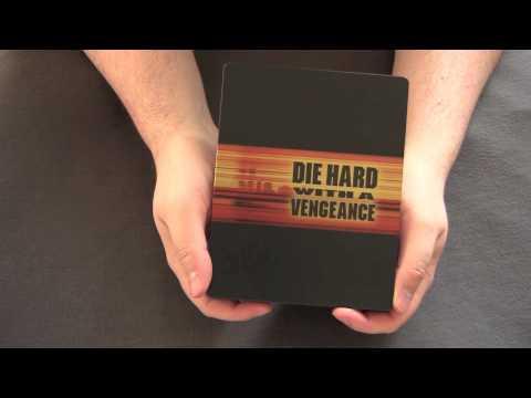 DIE HARD WITH A VENGEANCE UK blu-ray steelbook unboxing