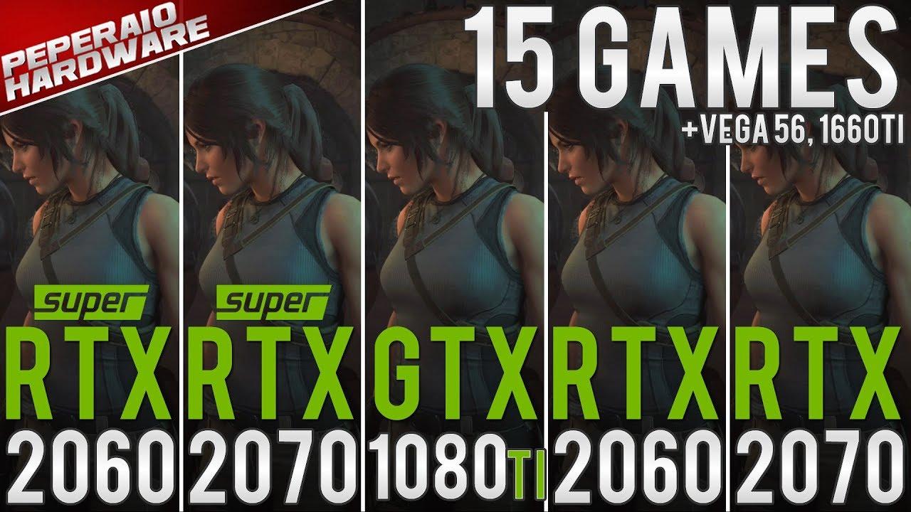 RTX 2060 Super & RTX 2070 Super Benchmark vs RTX 2060, RTX 2070, GTX 1080  Ti & Vega 56 (1080p 1440p)