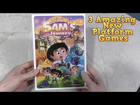 3 New Platform Games - Sam's Journey, Pets Rescue, and Cheese & Onion