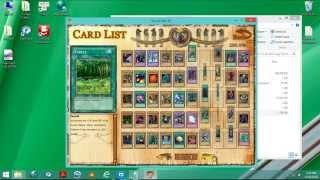 Download game PC- Yugioh! Yugi the destiny with unllock card list.