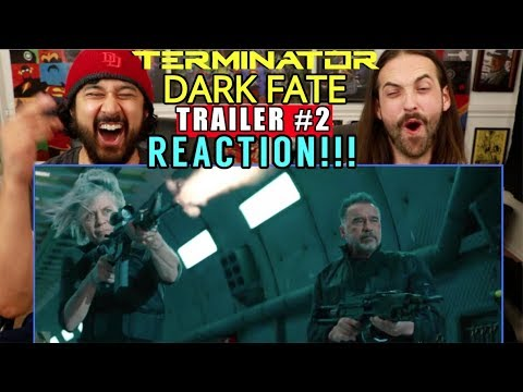 TERMINATOR: DARK FATE | TRAILER - REACTION!!!