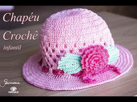 Chapéu de crochê  e5a87f644c1