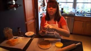 Whole Wheat Pizza Dough Recipe - Easyhealthybread.com Episode 2