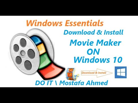 Download & Install Windows Movie Maker On Windows 10 By Windows Essentials 12