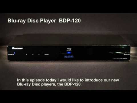 Pioneer BDP-120 Blu-ray Disc Player Windows 8 Drivers Download (2019)