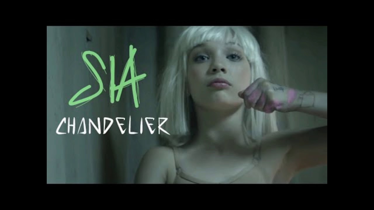 SIA chandelier cover - YouTube
