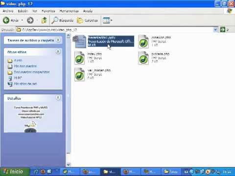 Videotutorial 12 del curso de PHP y MySQL