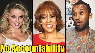 The media is protecting Amber Heard & Gayle King