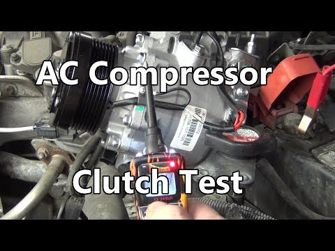 How-to Test for AC Compressor Clutch Function