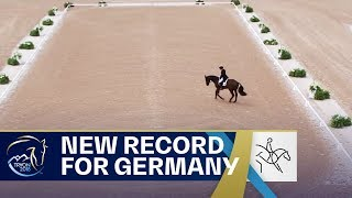 Germany sets a new RECORD in Eventing! | FEI World Equestrian Games 2018