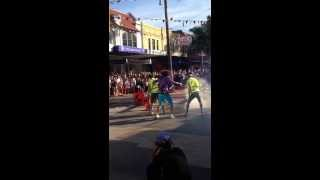 Filming of Red Foo's clip 'Let's get ridiculous'