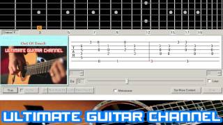 [Guitar Solo Tab] Out Of Touch (Hall And Oates)