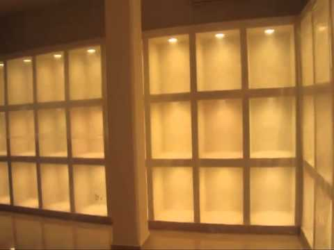 005 muebles de tablaroca para exposicion 09 - YouTube