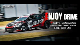 Enjoy drive - SEAT LEON TCR 2020 BY H.drive motor sport