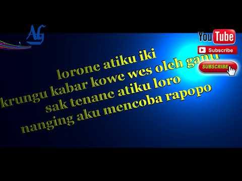 NDX Janur Kuning CEWEK Karaoke (LIRIK)