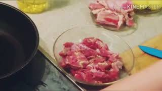 Тыква фаршированная мясом