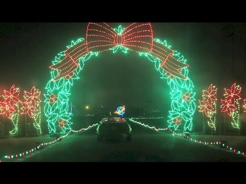 PIR Christmas Lights - YouTube