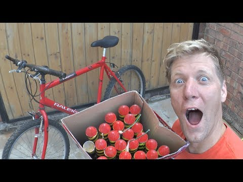 Making a 1000 ROCKET launch Bike