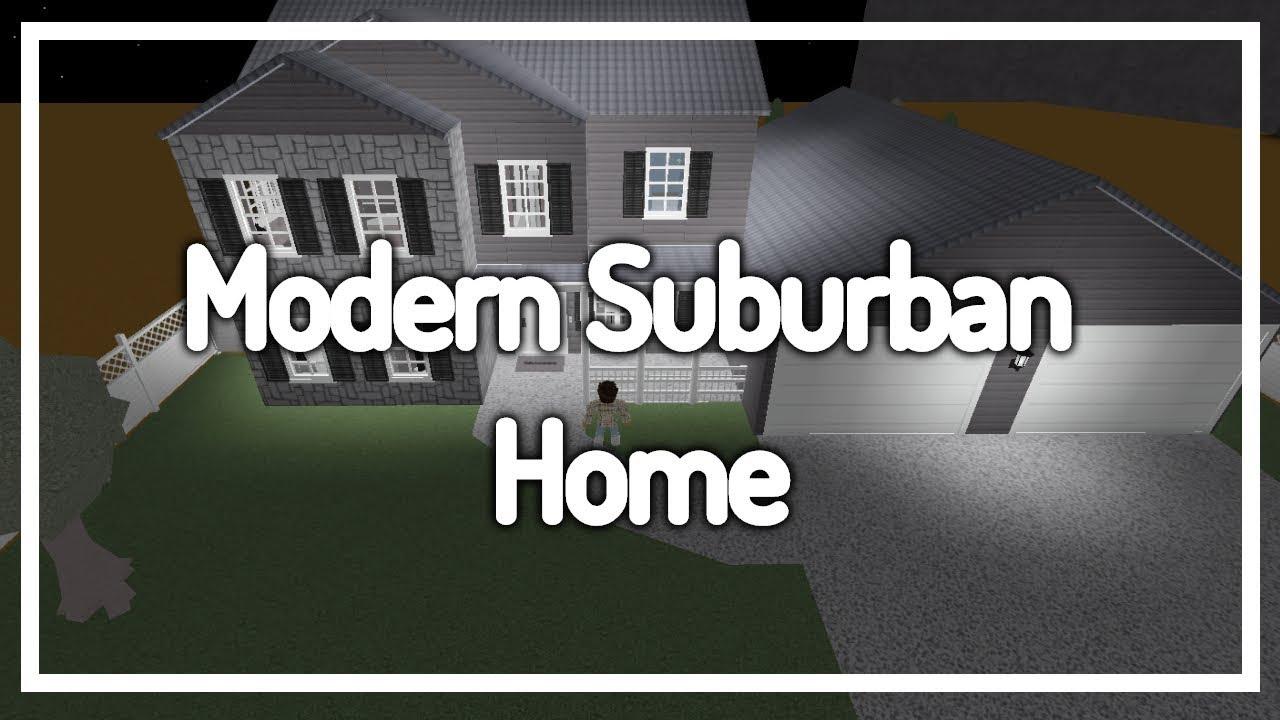 Giveaway winner welcome to bloxburg modern suburban for Modern house designs bloxburg