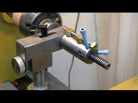 EZ QT Threading Attachment for woodturning
