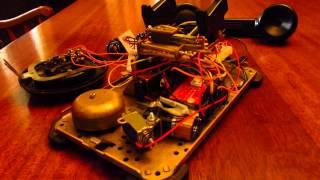 RetroBlue Bluetooth Rotary Phone