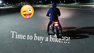 LEARNING HOW TO RIDE A MOTORCYCLE + POLICE ENCOUNTER !!!