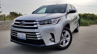 видео Toyota Highlander 2017 года